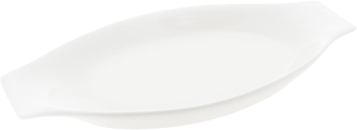 Форма для запекания Wilmax, овальная, 30 х 15,5 смWL-997012 / AНи для кого не секрет, что у настоящей хозяйки красивая посуда не только та, в которой она подает свои блюда, но и та, в которой она готовит. Овальная форма для запекания Wilmax выполнена из высококачественного фарфора и оснащена ручками для удобной переноски. Приятный глазу дизайн и отменное качество формы будут долго радовать вас. Внешний размер формы: 30 х 15,5 см. Внутренний размер формы: 25 х 15 см. Высота формы: 3,5 см.