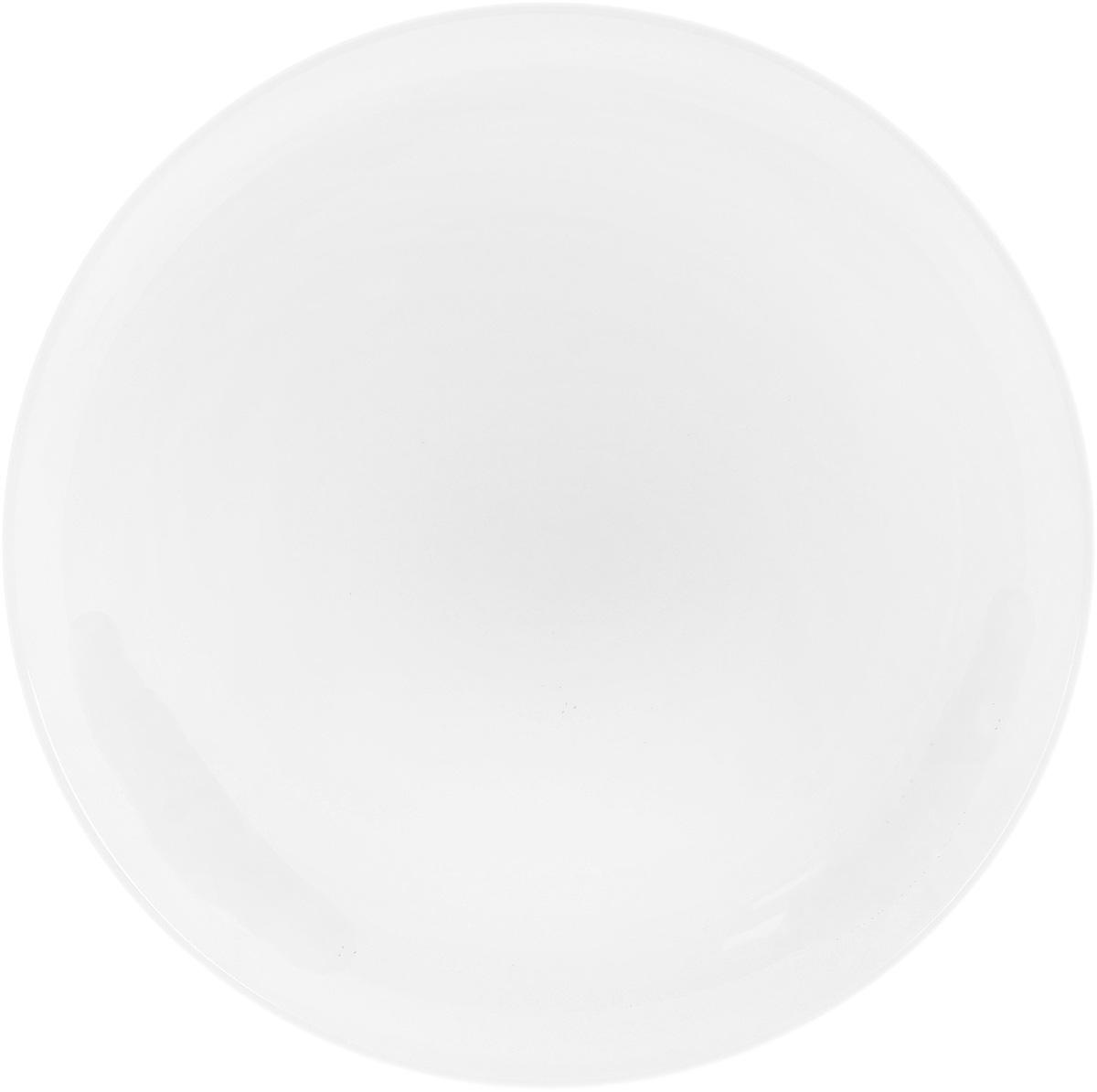 Тарелка Wilmax, диаметр 25,5 смWL-991015 / AТарелка Wilmax, изготовленная из высококачественного фарфора, имеет классическую круглую форму. Оригинальный дизайн придется по вкусу и ценителям классики, и тем, кто предпочитает утонченность и изысканность. Тарелка Wilmax идеально подойдет для сервировки стола и станет отличным подарком к любому празднику.