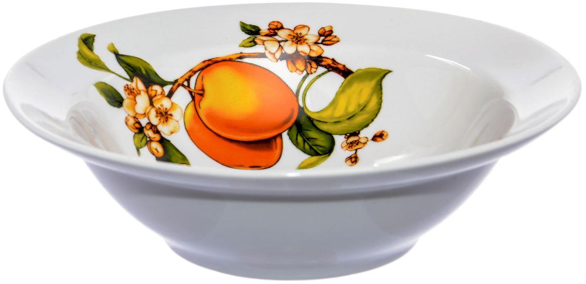 Миска Дулевский фарфор Абрикосы, 500 млDU00126ABПосуду можно использовать в СВЧ и мыть в посудомоечных машинах. Не рекомендуется использовать абразивные моющие средства.