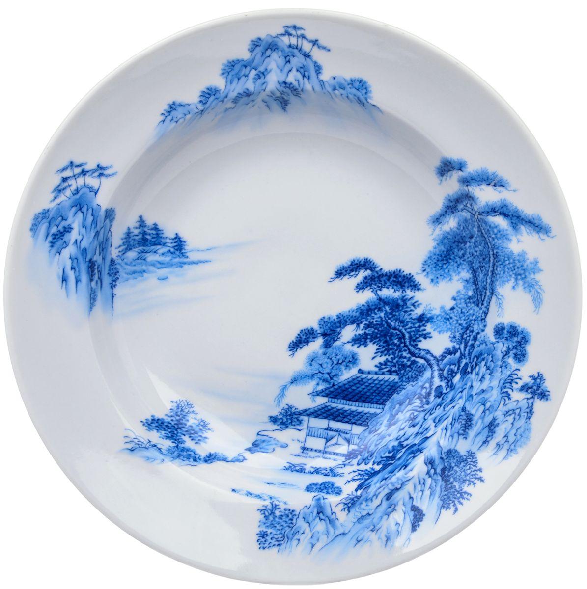 Тарелка глубокая Дулевский фарфор Азия, 20 смDU00304AZПосуду можно использовать в СВЧ и мыть в посудомоечных машинах. Не рекомендуется использовать абразивные моющие средства.