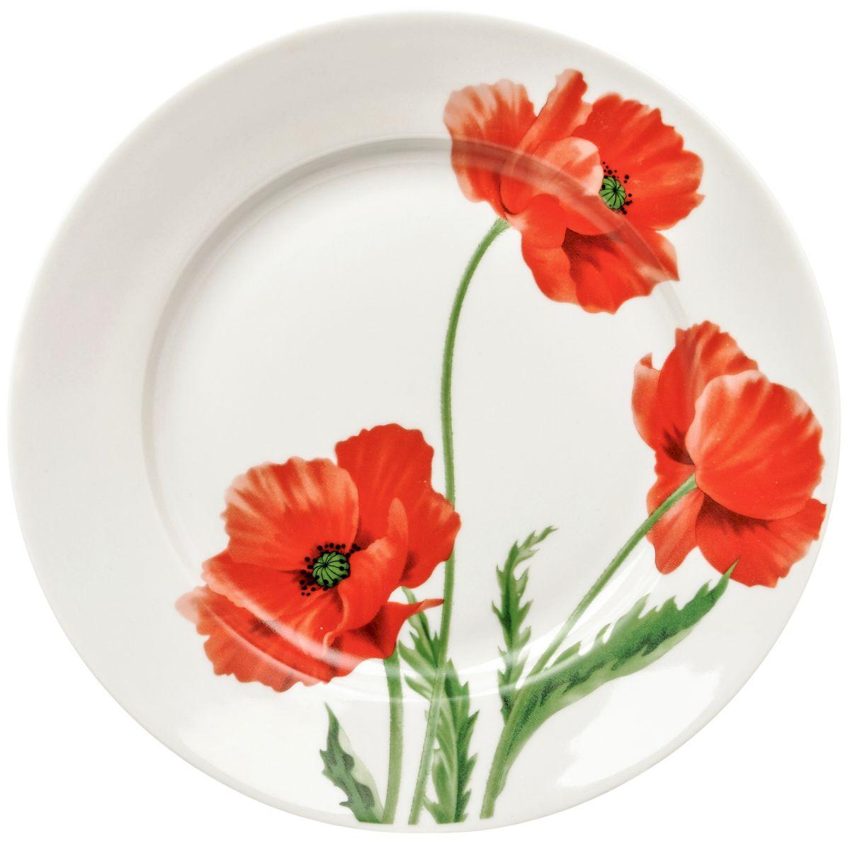 Тарелка десертная Дулевский фарфор Маки, 20 смDU02470MAПосуду можно использовать в СВЧ и мыть в посудомоечных машинах. Не рекомендуется использовать абразивные моющие средства.