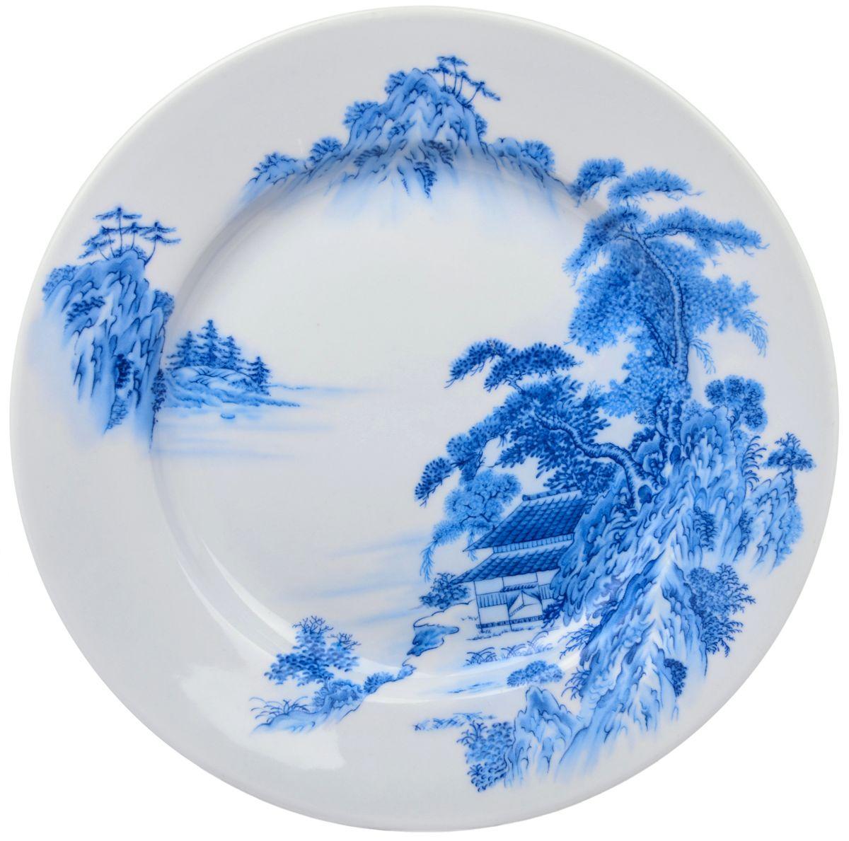 Тарелка обеденная Дулевский фарфор Азия, 24 смDU03222AZПосуду можно использовать в СВЧ и мыть в посудомоечных машинах. Не рекомендуется использовать абразивные моющие средства.