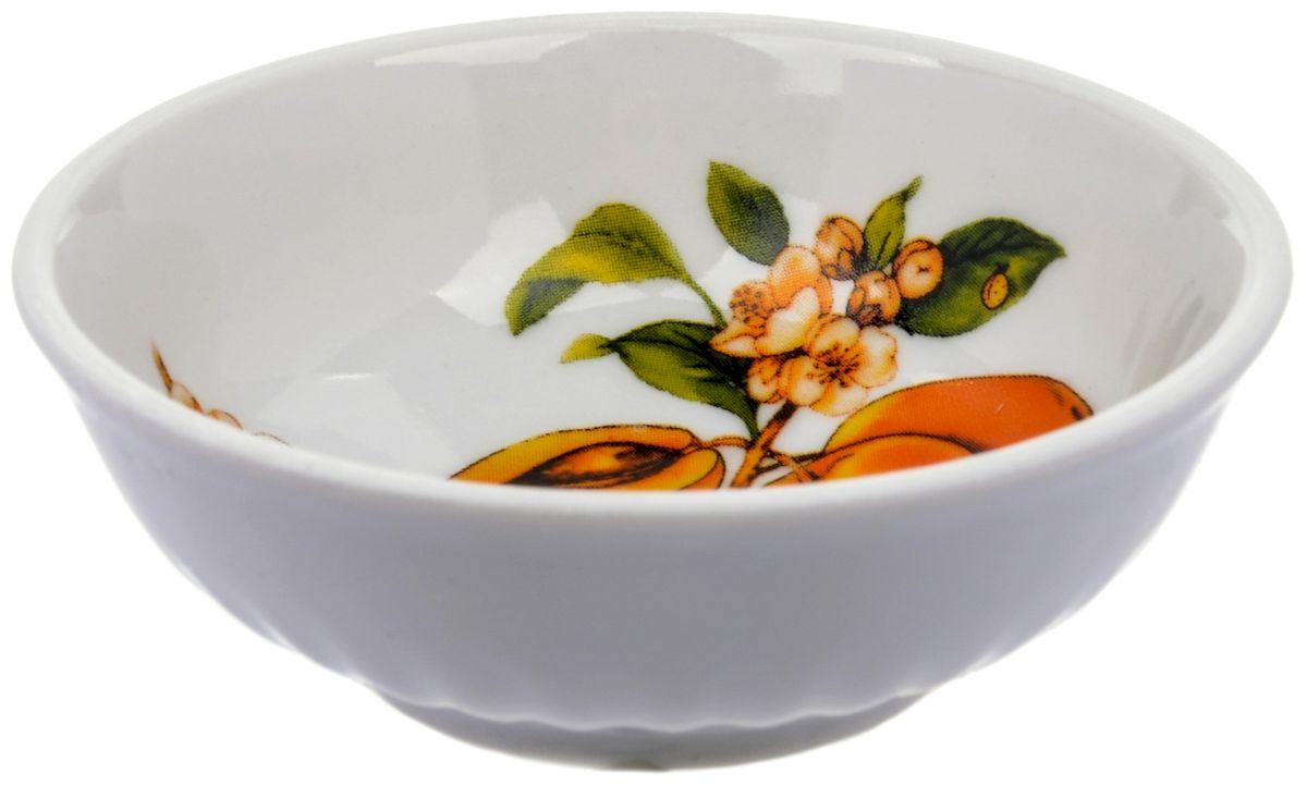 Блюдце Дулевский фарфор Абрикосы, 9 смDU03842ABПосуду можно использовать в СВЧ и мыть в посудомоечных машинах. Не рекомендуется использовать абразивные моющие средства.