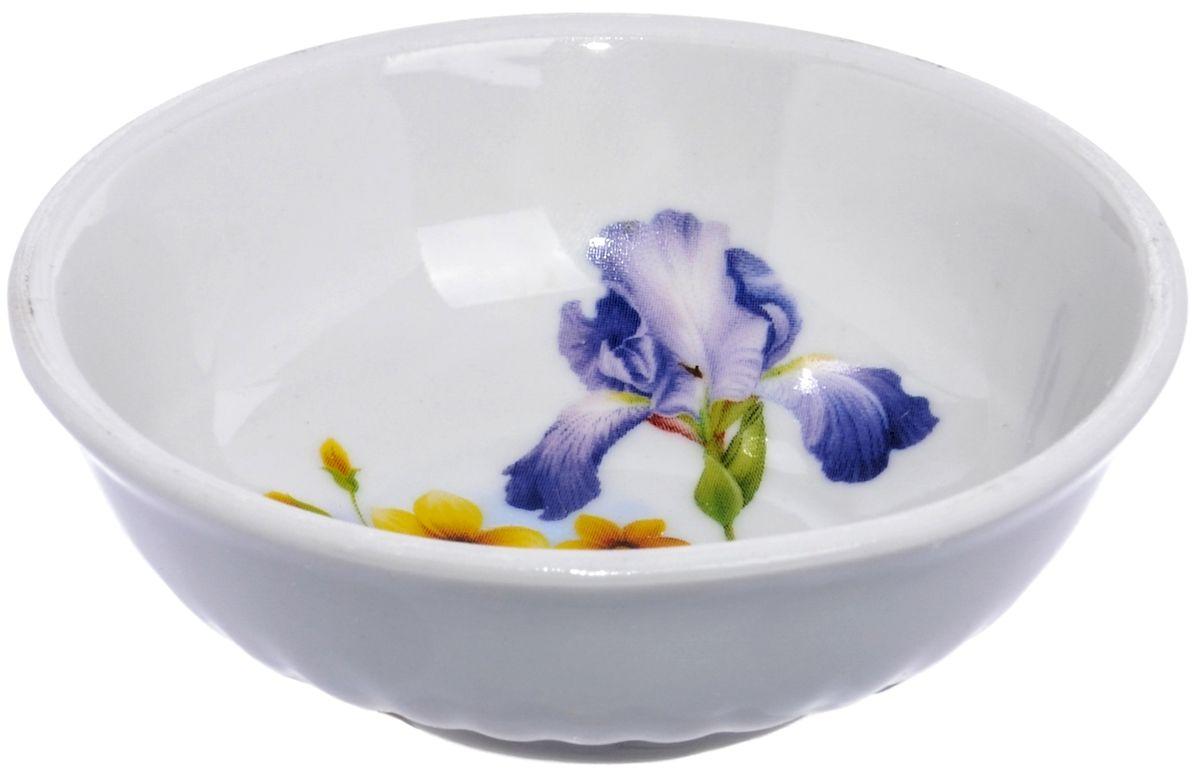 Блюдце Дулевский фарфор Ирисы, 9 смDU03842IRПосуду можно использовать в СВЧ и мыть в посудомоечных машинах. Не рекомендуется использовать абразивные моющие средства.
