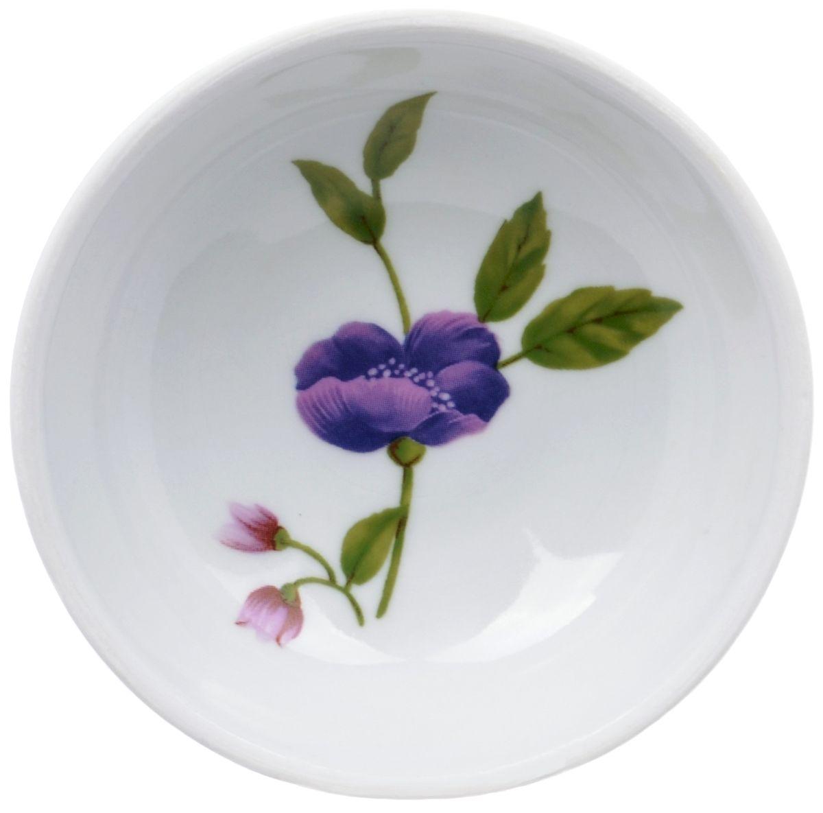 Блюдце Дулевский фарфор Луговые цветы, 9 смDU03842LFПосуду можно использовать в СВЧ и мыть в посудомоечных машинах. Не рекомендуется использовать абразивные моющие средства.