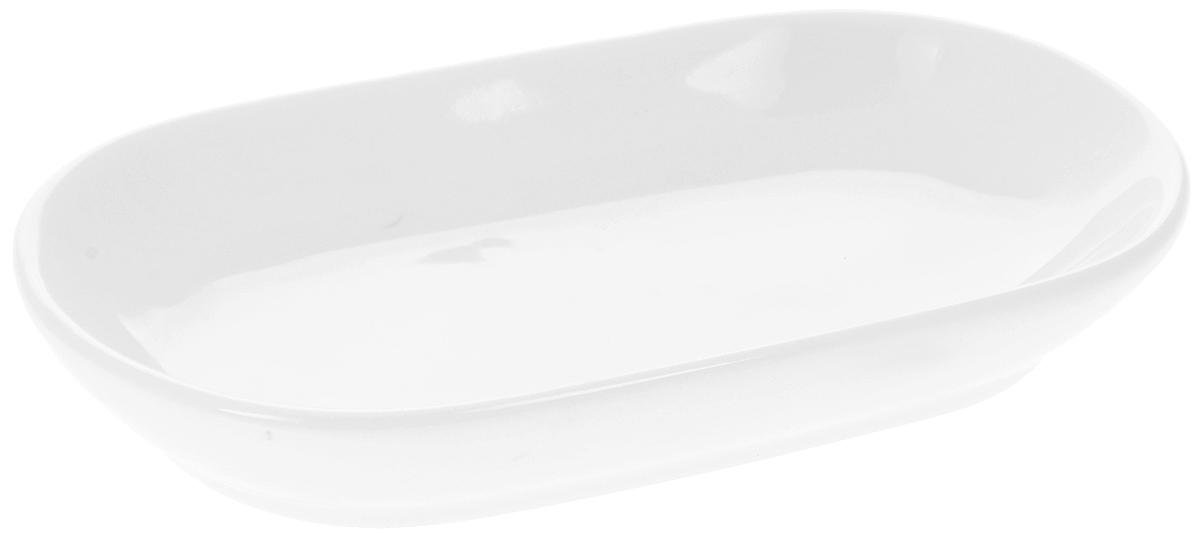 Блюдо Wilmax 13,5 х 7,5 смWL-992401 / AБлюдо Wilmax, изготовленное из высококачественного фарфора, имеет овальную форму. Оригинальный дизайн придется по вкусу и ценителям классики, и тем, кто предпочитает утонченность и изысканность. Блюдо Wilmax идеально подойдет для сервировки стола и станет отличным подарком к любому празднику. Можно мыть в посудомоечной машине и использовать в микроволновой печи. Размер блюда (по верхнему краю): 13,5 х 7,5 см. Высота стенки: 2 см.