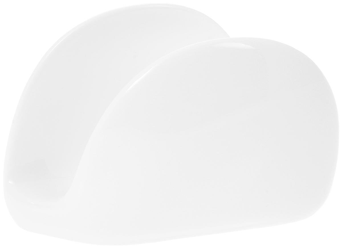 Салфетница Wilmax, 11 х 8 х 3 смWL-996093 / AОригинальная салфетница Wilmax выполнена из высококачественного фарфора. Такая салфетница не только великолепно украсит праздничный или обеденный стол, но и станет отличным подарком. Можно мыть в посудомоечной машине.