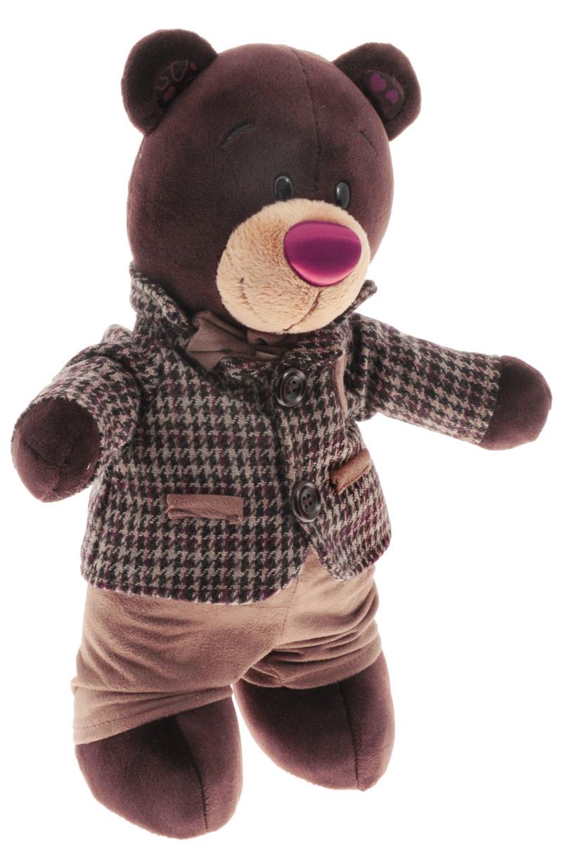 ChocoMilk Мягкая игрушка Мишка в пиджаке 30 смС5047/25