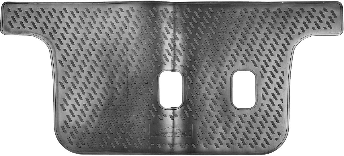Коврик в салон автомобиля Novline-Autofamily, для Chevrolet TrailBlazer 2013->, третий рядCARCHV00042Коврик в салон Novline-Autofamily не только улучшит внешний вид салона вашего автомобиля, но и надежно убережет его от пыли, грязи и сырости, а значит, защитит кузов от коррозии. Полиуретановый коврик для автомобиля гладкий, приятный и не пропускает влагу. Автомобильный коврик в салон учитывает все особенности каждой модели и полностью повторяет контуры пола. Благодаря этому его не нужно будет подгибать или обрезать. И самое главное - он не будет мешать педалям. Полиуретановый автомобильный коврик для салона произведен из высококачественного материала, который держит форму и не пачкает обувь. К тому же, этот материал очень прочный (его, к примеру, не получится проткнуть каблуком). Некоторые автоковрики становятся источником неприятного запаха в автомобиле. С полиуретановым ковриком Novline-Autofamily вы можете этого не бояться. Коврик для автомобилей надежно крепится на полу и не скользит, что очень важно во время движения, особенно для водителя. Коврик из...