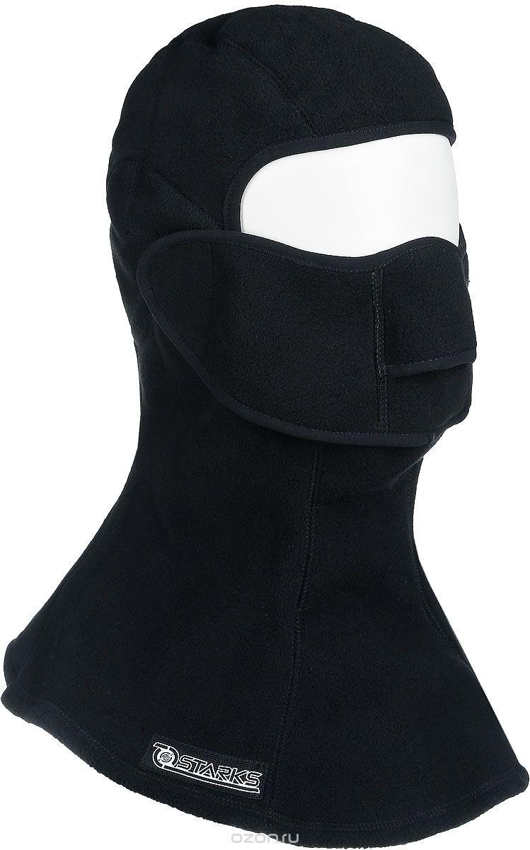 Подшлемник с защитой шеи Starks Fleece Collar Open, цвет: черный. Размер L/XLЛЦ0032_Черный_LПодшлемник для экстремального холода и открывающейся лицевой частью.Выполнен из Европейского Сертифицированного материала-Fleece Windblock. Полная защита лица и шеи от проницания влаги, холода, пыли. Снаружи и внутри-флисовыйворс-который обеспечивает терморегуляцию, сохранение тепла отведение влаги от лица к мембране и последующее выведение наружу. Защитная дышащая мембрана работает в обе стороны -изнутри сохраняет тепло, выводит влагу. Снаружи полная защита от неблагоприятных внешних факторов. Модель предназначена для любых отрицательных температур и любой влажности. Съемная лицевая часть позволяет легко открывать лицо-когда это необходимо не снимая при этой подшлемник. Гипоалергенный, Терморегуляция, Антибактериальный, Анатомический, Состав: 100% полиэстер.