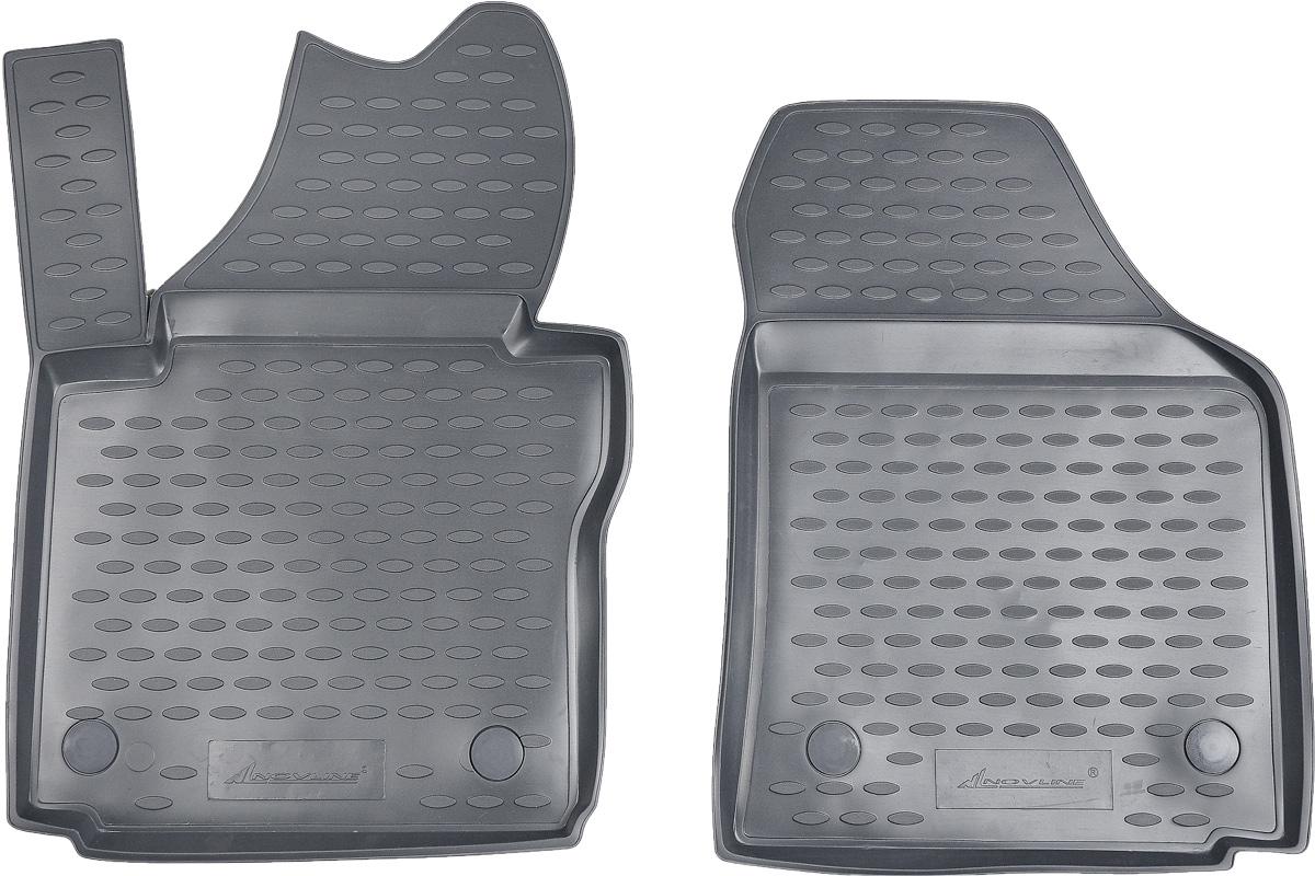 Коврики в салон автомобиля Novline-Autofamily, для Volkswagen Caddy 10/2007->, 2 штNLC.51.19.211kКоврики в салон Novline-Autofamily не только улучшат внешний вид салона вашего автомобиля, но и надежно уберегут его от пыли, грязи и сырости, а значит, защитят кузов от коррозии. Полиуретановые коврики для автомобиля гладкие, приятные и не пропускают влагу. Автомобильные коврики в салон учитывают все особенности каждой модели и полностью повторяют контуры пола. Благодаря этому их не нужно будет подгибать или обрезать. И самое главное - они не будут мешать педалям. Полиуретановые автомобильные коврики для салона произведены из высококачественного материала, который держит форму и не пачкает обувь. К тому же, этот материал очень прочный (его, к примеру, не получится проткнуть каблуком). Некоторые автоковрики становятся источником неприятного запаха в автомобиле. С полиуретановыми ковриками Novline-Autofamily вы можете этого не бояться. Коврики для автомобилей надежно крепятся на полу и не скользят, что очень важно во время движения, особенно для водителя. ...