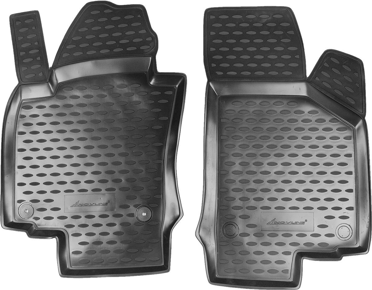 Коврики в салон автомобиля Novline-Autofamily, для Skoda Octavia II 03/2008->, 2 штNLC.45.03.210kfКоврики в салон Novline-Autofamily не только улучшат внешний вид салона вашего автомобиля, но и надежно уберегут его от пыли, грязи и сырости, а значит, защитят кузов от коррозии. Полиуретановые коврики для автомобиля гладкие, приятные и не пропускают влагу. Автомобильные коврики в салон учитывают все особенности каждой модели и полностью повторяют контуры пола. Благодаря этому их не нужно будет подгибать или обрезать. И самое главное - они не будут мешать педалям. Полиуретановые автомобильные коврики для салона произведены из высококачественного материала, который держит форму и не пачкает обувь. К тому же, этот материал очень прочный (его, к примеру, не получится проткнуть каблуком). Некоторые автоковрики становятся источником неприятного запаха в автомобиле. С полиуретановыми ковриками Novline-Autofamily вы можете этого не бояться. Коврики для автомобилей надежно крепятся на полу и не скользят, что очень важно во время движения, особенно для водителя. ...