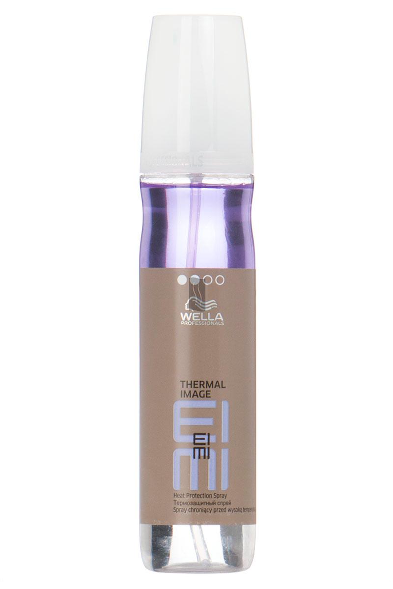 Wella Термозащитный спрей EIMI Thermal Image, 150 мл81511691/5980Степень фиксации термозащитного спрея 2. Он позволит добавить волосам гладкость, упругость, блеск, обеспечит отличную фиксацию при создании локонов или выпрямлении волос.