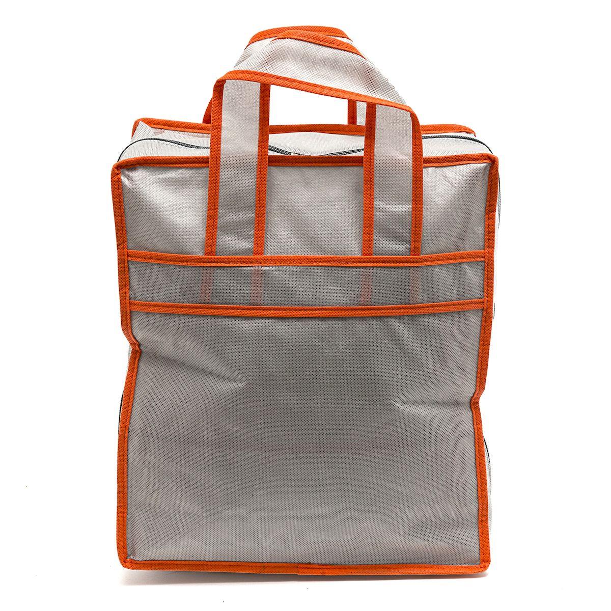 Сумка-чехол для обуви Homsu Space Grey, 6 отделений, 34 x 18 x 39 смHOM-173Универсальная сумка-чехол для обуви Homsu Space Grey выполнена из полиэстера и ПВХ, что обеспечивает вашей обуви защиту от повреждений, грязи при транспортировке и проникновения моли при хранении. Сумка-чехол хорошо пропускает воздух для естественной вентиляции, что очень важно при хранении кожаной обуви и обуви с мехом. Закрывается на молнию. Изделие имеет 6 отделений.