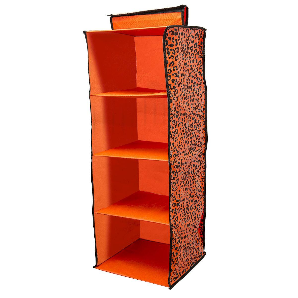 Органайзер подвесной в шкаф Homsu Leopard, на 4 полки, 32x32x85 смHOM-424Удобный подвесной органайзер для дома на 4 ячейки. Отлично подходит для хранения вещей.Фактический цвет может отличаться о заявленного. Размер изделия: 32x32x85см