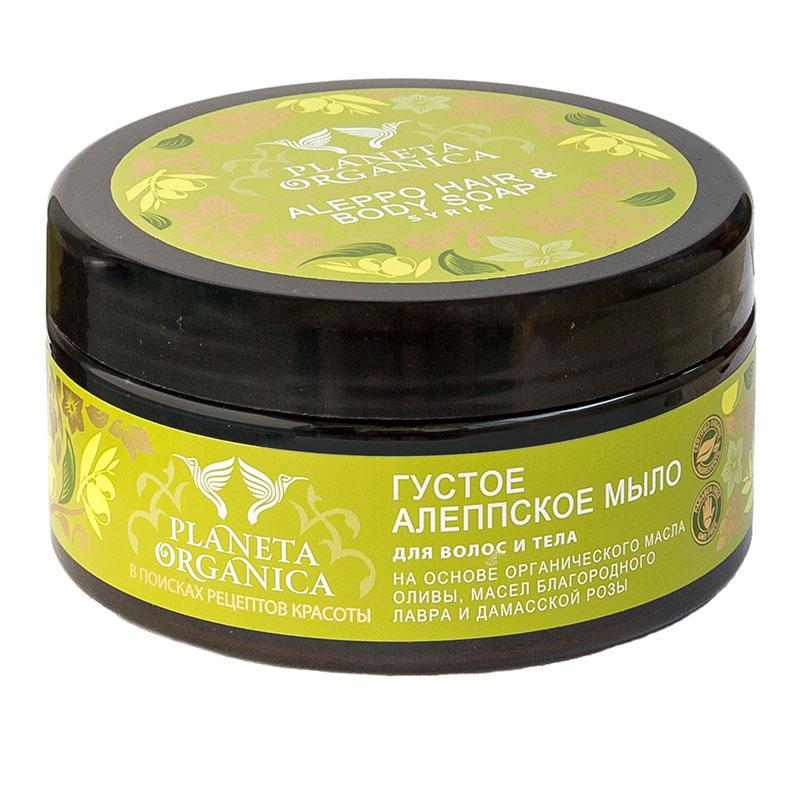 Planeta Organica мыло для волос и тела алеппское мыло 300 мл 071-1-4074