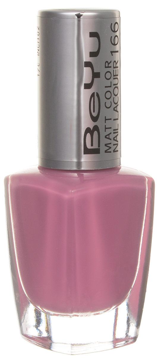 BeYu Лак для ногтей с матовым эффектом Matt Color Nail Lacquer 166 9 мл3116.166Новый лак для ногтей с модным матовым финишем! Идеально матовое покрытие и насыщенные оттенки.