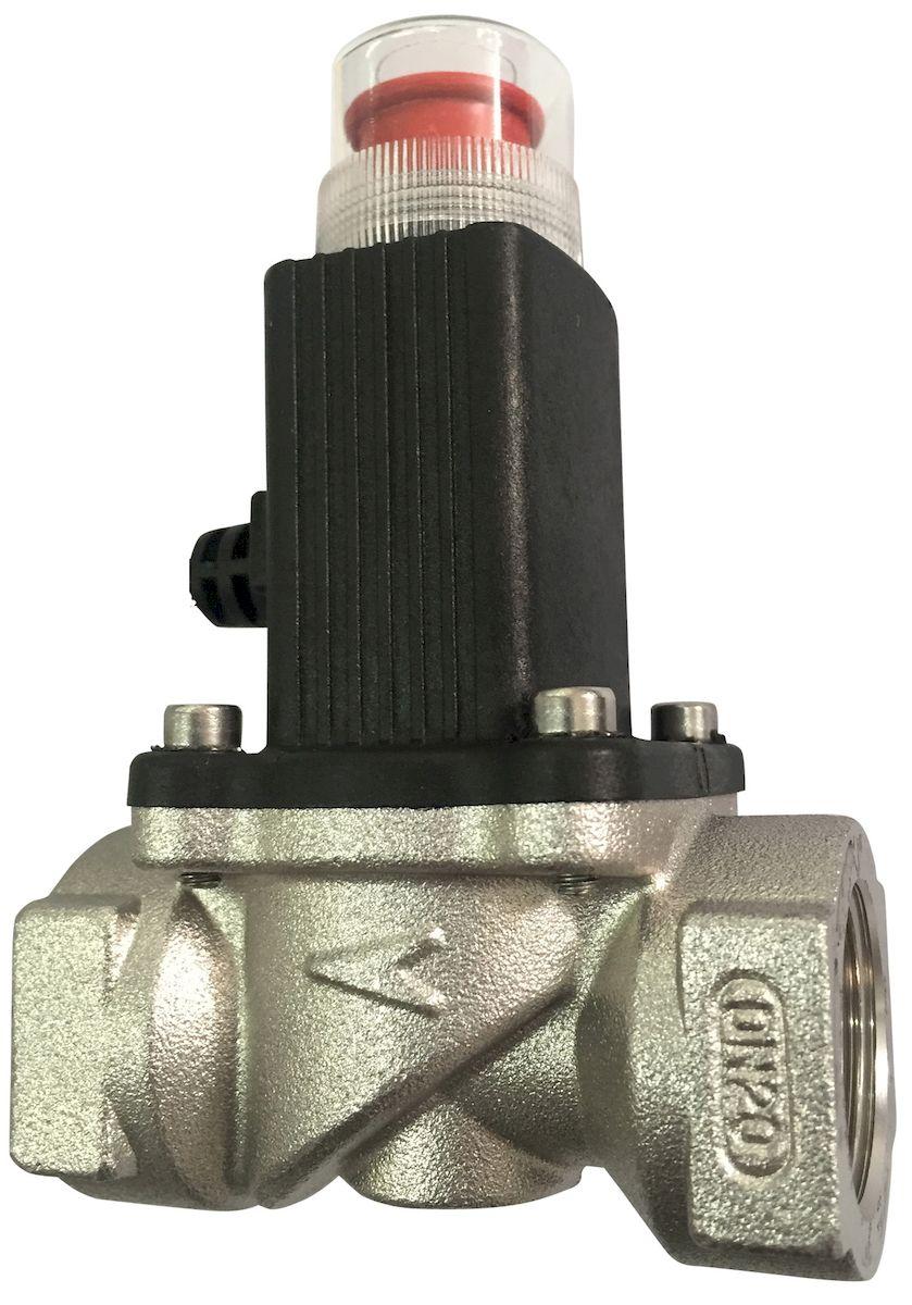 Электромагнитный клапан Кенарь GV-80, 1/2 дюймGV-80 D15Электромагнитный клапан для перекрытия газа, размер резьбы 1/2 дюйма (d15), нормально открытый, с ручным управлением, для газопроводов низкого давления, питание 9-12В постоянного тока.