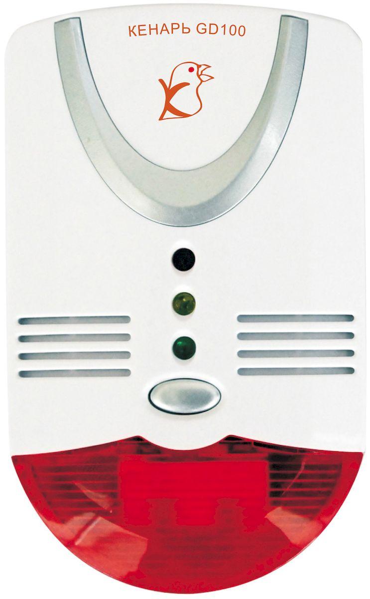 Сигнализатор газа Кенарь GD100-CN, метан + COGD100-CNСигнализатор превышения концентрации природного газа (метана) свыше 10% НКПР и угарного газа (оксида углерода) свыше 100мг/куб.м., световая и звуковая сигнализации, питание от 220В, подключение электромагнитного клапана и дополнительных цепей.