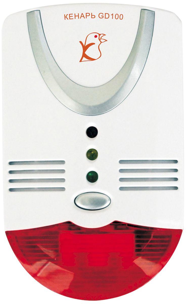 Сигнализатор газа Кенарь GD100-L, пропанGD100-LСигнализатор превышения концентрации сжиженного газа (пропана) свыше 10% НКПР, световая и звуковая сигнализации, питание от 220В, подключение электромагнитного клапана и дополнительных цепей.