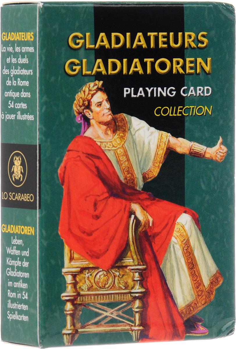 Карты игральные Lo Scarabeo Гладиаторы, 54 карты. PC44РС44Карты игральные