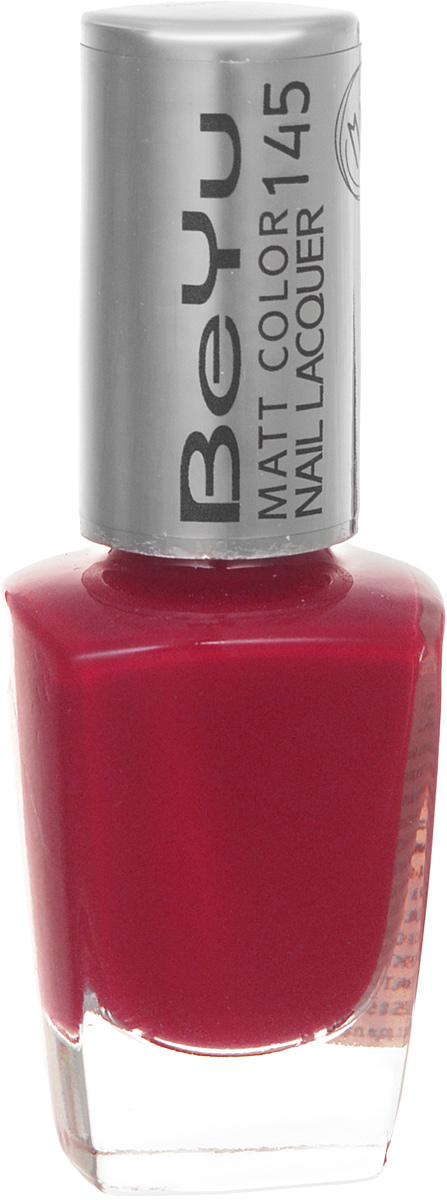 BeYu Лак для ногтей с матовым эффектом Matt Color Nail Lacquer 145 9 мл3116.145Новый лак для ногтей с модным матовым финишем! Идеально матовое покрытие и насыщенные оттенки.