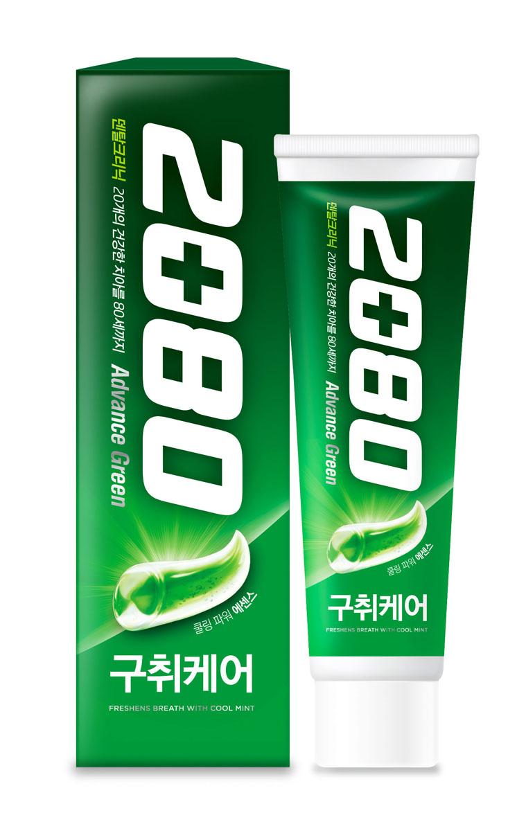 Dental Clinic 2080 Зубная паста Эдванс Свежесть дыхания 120г8801046249512Эффективно очищает поверхность зубов и освежает дыхание на 12 часов. Витамин Е поддерживает здоровье десен. Содержит антибактериальный растительный компонент из коры березы (бетулин).