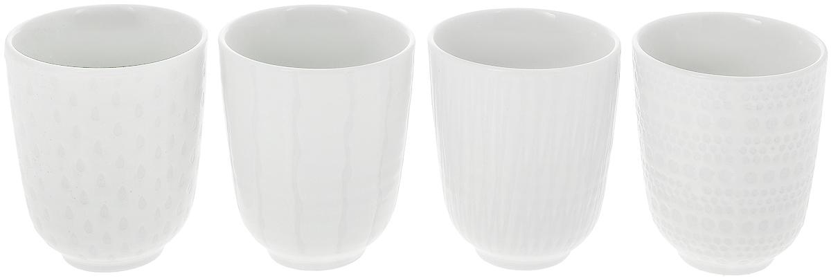 Набор кружек Asa Selection Lumi, 120 мл, 4 предмета90810/071Набор Wilmax состоит из четырех кружек, выполненных из высококачественного фарфора с глазурованным покрытием. Изделия станут незаменимыми для чаепития, порадуют вас практичностью, высоким качеством и стильным дизайном. Оригинальный набор Wilmax отлично дополнит коллекцию вашей кухонной посуды и станет хорошим подарком для ваших друзей и близких. Диаметр кружки (по верхнему краю): 7,5 см. Высота: 8,2 см.