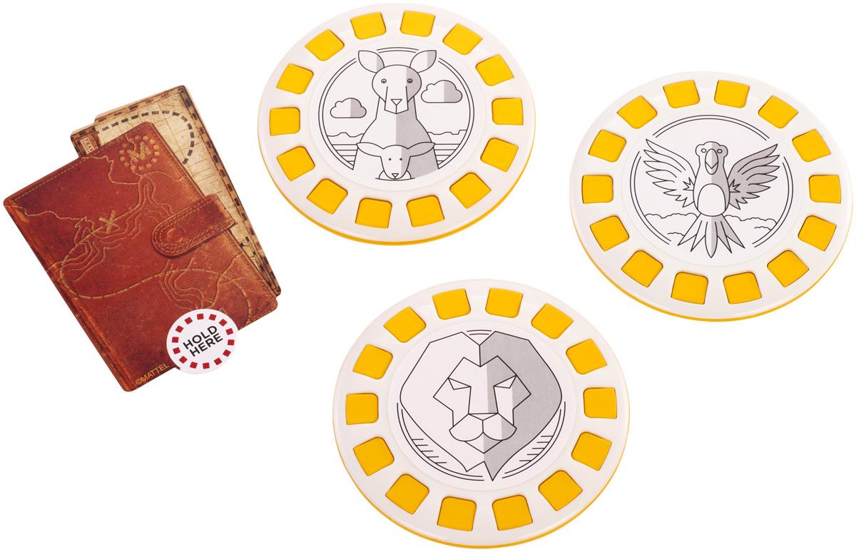 View-Master Интерактивная игрушка Дикая природаDNC17_DLL71С помощью интерактивной игрушки View Master Дикая природа вы сможете виртуально побывать в разных уголках нашей планеты - саванне, на реке Амазонке и в Австралии. Сможете понаблюдать за слонами, жирафами и львами, присоединиться к компании ленивцев и ягуаров, исследовать отдаленные уголки Австралии в поисках коал и кенгуру. Просто загрузите приложение View-Master, посвященное дикой природе, вставьте смартфон в очки виртуальной реальности View-Master (продаются отдельно)и положите перед собой фишку из набора. Открывайте неизведанное, погружайтесь в окружающее вас пространство. В наборе: карта доступа, 3 фишки.