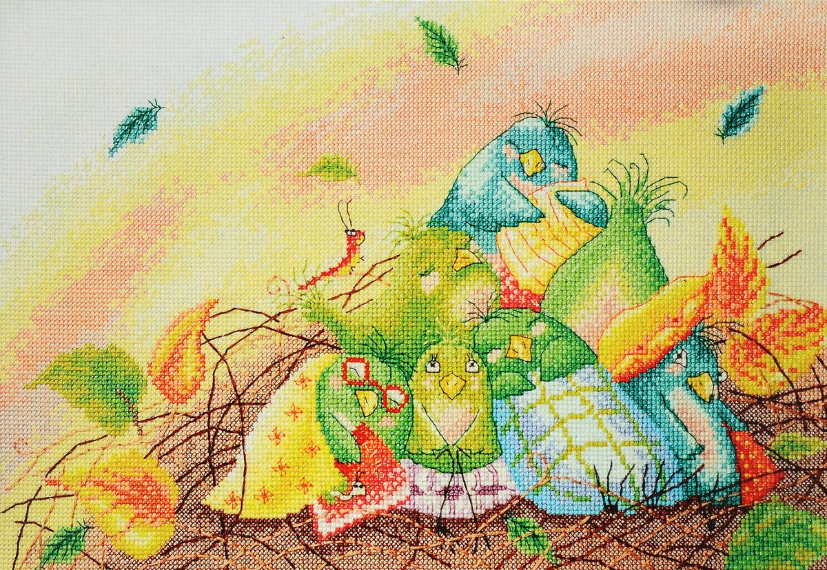 Набор для вышивания крестом Марья Искусница Сонное царство, 35 х 23 см15.001.23Набор для вышивания крестом Марья Искусница Сонное царство поможет создать красивую вышитую картину. Рисунок-вышивка, выполненный на канве по рисунку Элины Эллис, выглядит стильно и модно. Вышивание отвлечет вас от повседневных забот и превратится в увлекательное занятие! Работа, сделанная своими руками, не только украсит интерьер дома, придав ему уют и оригинальность, но и будет отличным подарком для друзей и близких! Набор содержит все необходимые материалы для вышивки на канве в технике счетный крест. В набор входит: - канва Aida 14 Zweigart (светло-голубого цвета), - нитки мулине Finca - хлопок (34 цвета), - черно-белая символьная схема, - инструкция на русском языке, - игла Hemline. Размер готовой работы: 35 х 23 см. Размер канвы: 38 х 46 см.