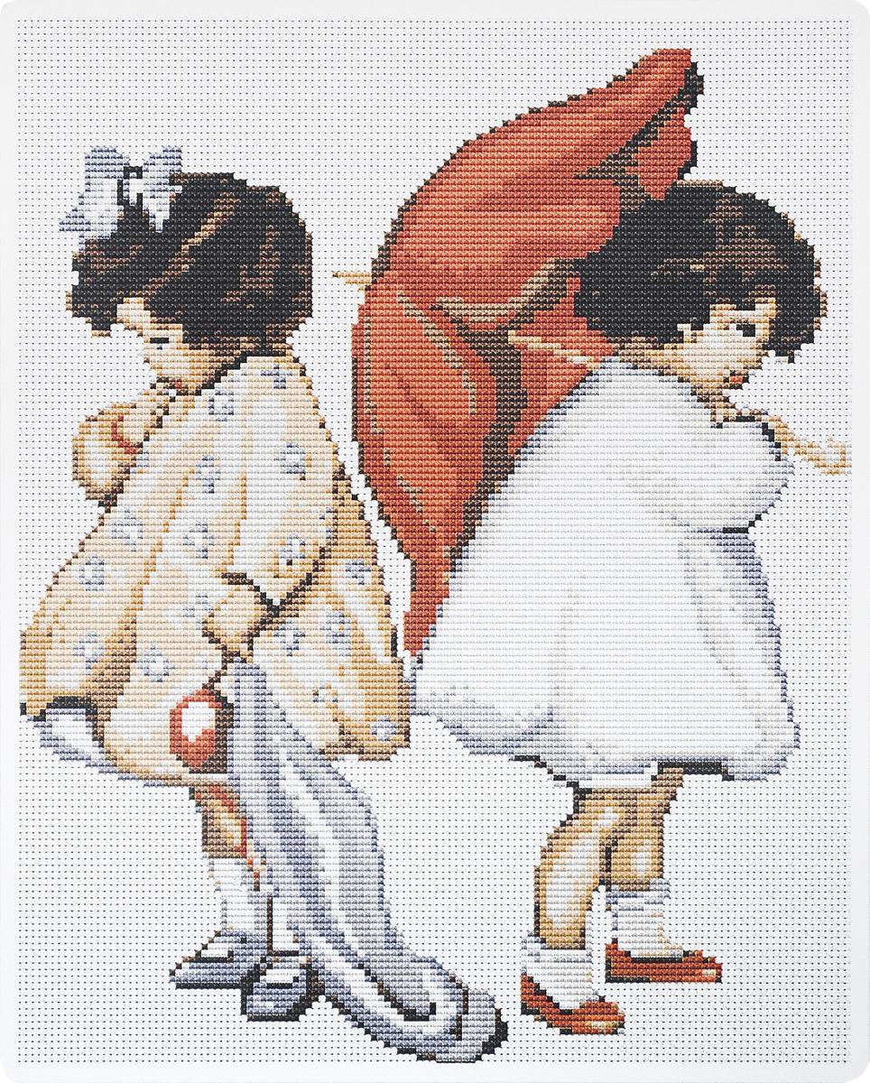 Набор для вышивания крестом Luca-S Рассерженные девочки, 20,5 х 25 смB379Набор для вышивания крестом Luca-S Рассерженные девочки поможет создать красивую вышитую картину. Рисунок-вышивка, выполненный на канве, выглядит стильно и модно. Вышивание отвлечет вас от повседневных забот и превратится в увлекательное занятие! Работа, созданная своими руками, не только украсит интерьер дома, придав ему уют и оригинальность, но и будет отличным подарком для друзей и близких! Набор содержит все необходимые материалы для вышивки на канве в технике счетный крест. В набор входит: - канва Aida Zweigart №16 (белого цвета), - мулине Anchor - 100% мерсеризованный хлопок (12 цветов), - черно-белая символьная схема, - инструкция, - игла. Размер готовой работы: 20,5 х 25 см. Размер канвы: 36 х 30 см.