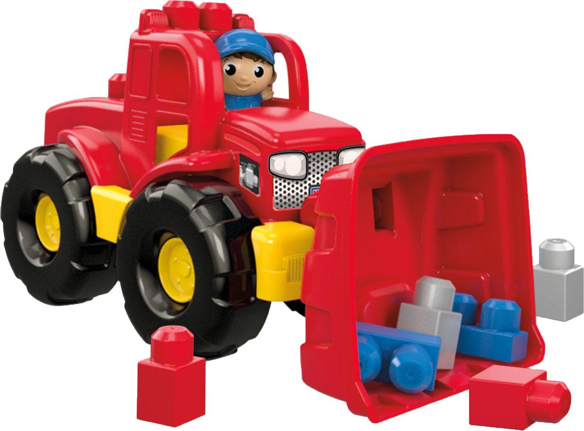 Mega Bloks First Builders Конструктор Трансформирующийся самосвалDPP73Есть работа - есть охота! Ваш маленький строитель всегда готов к трудовым подвигам, если у него есть грузовик-трансформер от Mega Bloks! Игра с этой надежной машиной интересна вдвойне: сначала малыш управляет самосвалом, а в нужный момент превращает его в трактор и учится практичности. Посадите фигурку на водительское сиденье, загрузите кузов блоками и увезите их прочь - или перевезите на другую стройплощадку. А теперь переставьте кузов вперед, превратите грузовик в трактор и отправляйся к новым победам! Толкайте блоки к нужному месту или складывайте их прямо на крышу трактора - впереди большая стройка! Конструктор предназначен для детей в возрасте от 1 до 5 лет.