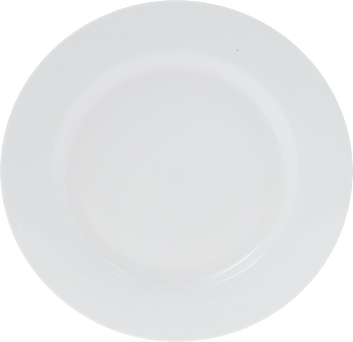 Тарелка Wilmax, диаметр 28 см. WL-991181 / AWL-991181 / AТарелка Wilmax, изготовленная из высококачественного фарфора, имеет классическую круглую форму. Оригинальный дизайн придется по вкусу и ценителям классики, и тем, кто предпочитает утонченность и изысканность. Тарелка Wilmax идеально подойдет для сервировки стола и станет отличным подарком к любому празднику.