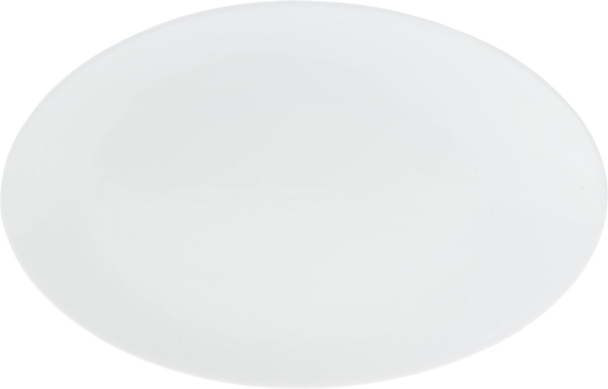 Блюдо Wilmax, 36,5 х 24,5 смWL-992023 / AОригинальное овальное блюдо Wilmax, изготовленное из фарфора с глазурованным покрытием, прекрасно подойдет для подачи нарезок, закусок и других блюд. Фарфор от Wilmax изготовлен по уникальному рецепту из сплава магния и алюминия, благодаря чему посуда обладает характерной белизной, прочностью и устойчивостью к сколами. Особый состав глазури обеспечивает гладкость и блеск поверхности изделия. Блюдо украсит ваш кухонный стол, а также станет замечательным подарком к любому празднику. Можно мыть в посудомоечной машине и использовать в микроволновой печи. Изделие пригодно для использования в духовых печах и выдерживает температуру до 300°С. Размеры изделия: 36,5 х 24,5 х 2 см.