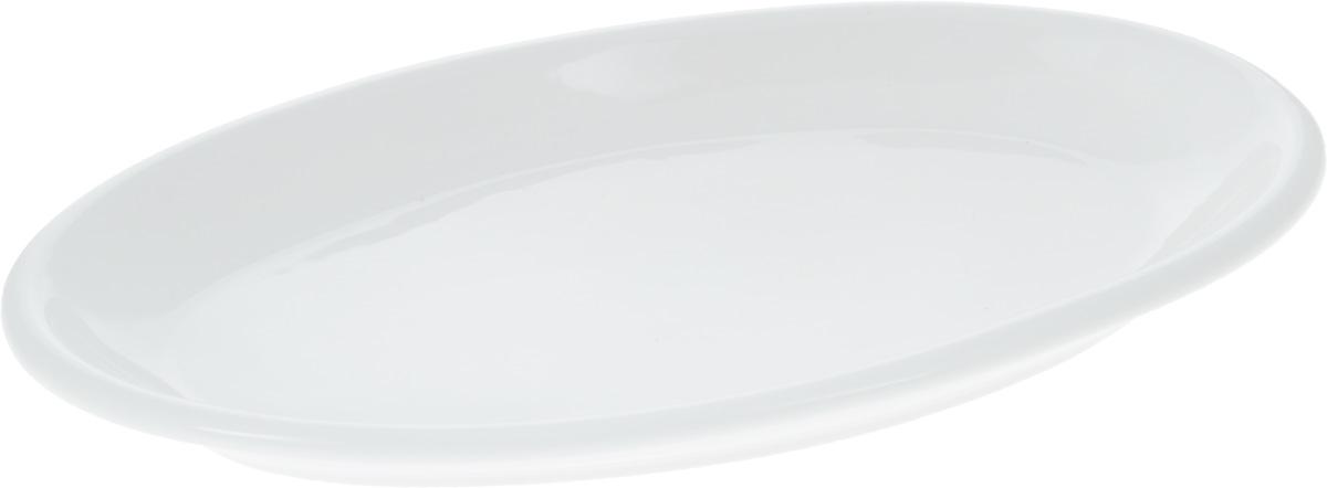Блюдо Wilmax, 30 х 17,5 смWL-992128 / AОригинальное овальное блюдо Wilmax, изготовленное из фарфора с глазурованным покрытием, прекрасно подойдет для подачи нарезок, закусок и других блюд. Фарфор от Wilmax изготовлен по уникальному рецепту из сплава магния и алюминия, благодаря чему посуда обладает характерной белизной, прочностью и устойчивостью к сколами. Особый состав глазури обеспечивает гладкость и блеск поверхности изделия. Блюдо украсит ваш кухонный стол, а также станет замечательным подарком к любому празднику. Можно мыть в посудомоечной машине и использовать в микроволновой печи. Изделие пригодно для использования в духовых печах и выдерживает температуру до 300°С.