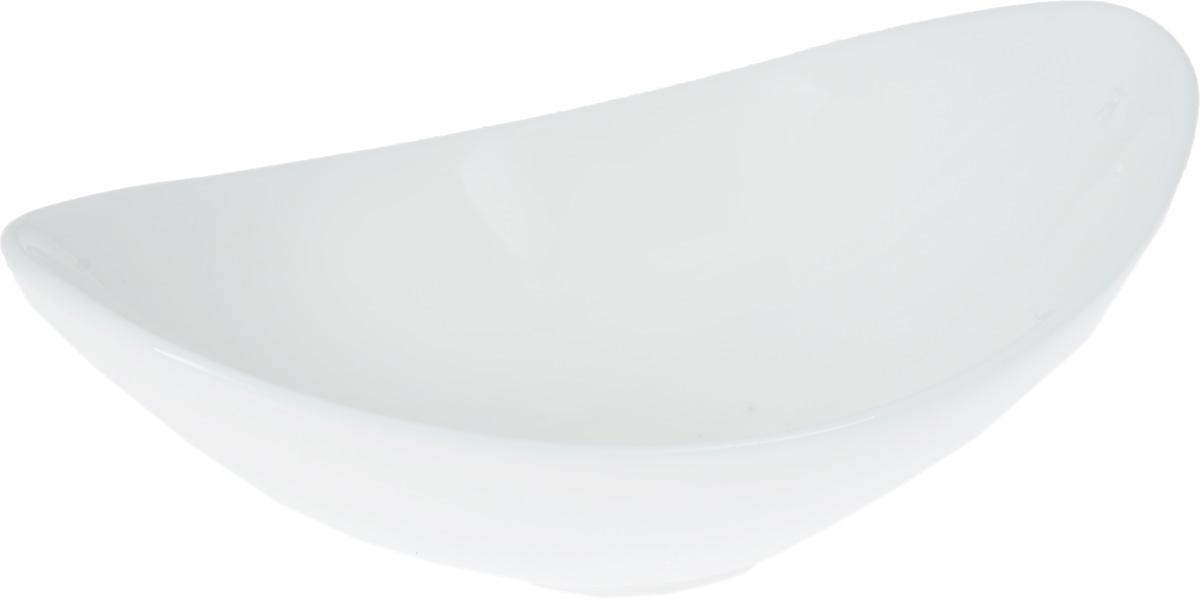 Салатник Wilmax, 100 млWL-992390 / AСалатник Wilmax, изготовленный из фарфора с глазурованным покрытием, прекрасно подойдет для подачи различных закусок. Фарфор от Wilmax изготовлен по уникальному рецепту из сплава магния и алюминия, благодаря чему посуда обладает характерной белизной, прочностью и устойчивостью к сколами. Особый состав глазури обеспечивает гладкость и блеск поверхности изделия. Такой салатник украсит ваш праздничный или обеденный стол, а оригинальный дизайн придется по вкусу и ценителям классики, и тем, кто предпочитает утонченность и изысканность. Можно мыть в посудомоечной машине и использовать в микроволновой печи. Изделие пригодно для использования в духовых печах и выдерживает температуру до 300°С.