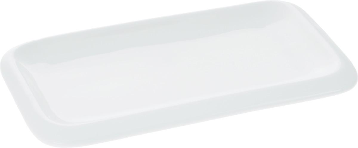 Блюдо Wilmax, 20 х 12 смWL-992659 / AОригинальное прямоугольное блюдо Wilmax, изготовленное из фарфора с глазурованным покрытием, прекрасно подойдет для подачи нарезок, закусок и других блюд. Оно украсит ваш кухонный стол, а также станет замечательным подарком к любому празднику. Размер блюда: 20 х 12 см.