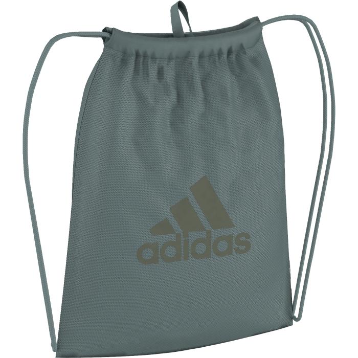 Рюкзак спортивный Adidas Per logo gb, цвет: зеленый. AY6026