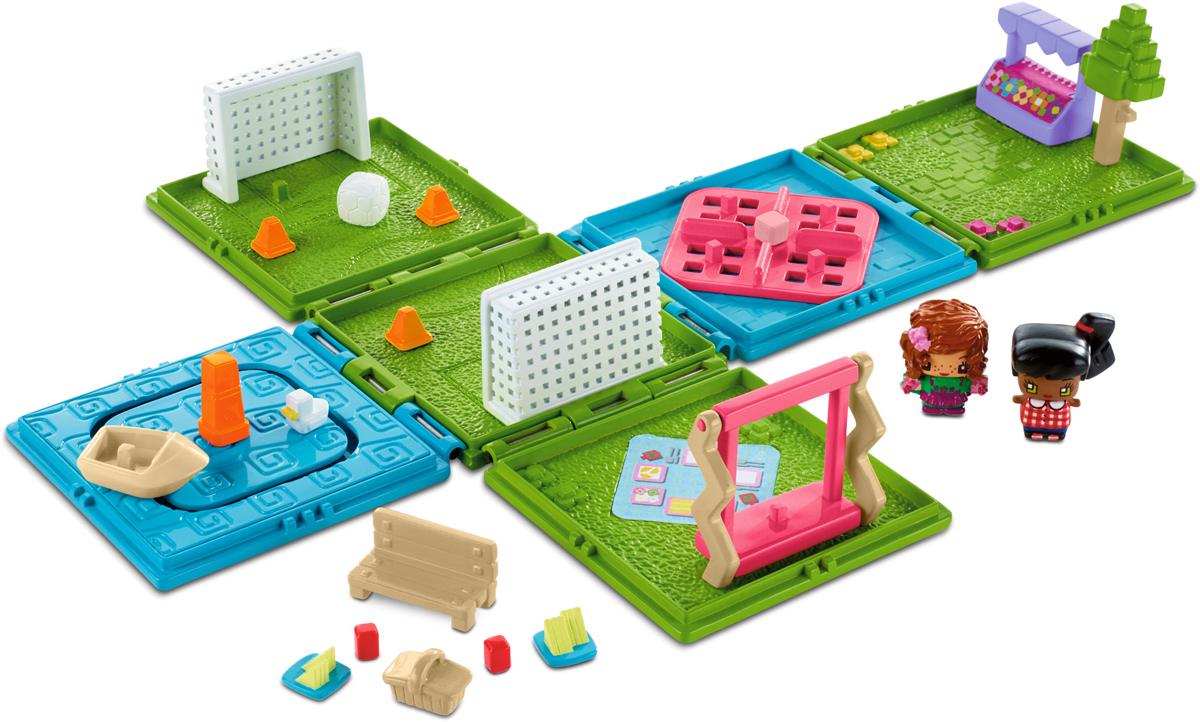 My Mini Mixiqes Игровой набор базовый DWB65_DWB67DWB65_DWB67Наши базовые наборы в ассортименте. Эти портативные наборы легко брать с собой, открывая, когда хочется поиграть. Внутри — какое-либо из знакомых и любимых девочками мест, например, парк или квартира. В каждый набор входит две фигурки, соответствующие тематике набора, а третья — скрытая. Также в набор входят различные предметы, в том числе от трех до пяти подвижных элементов.