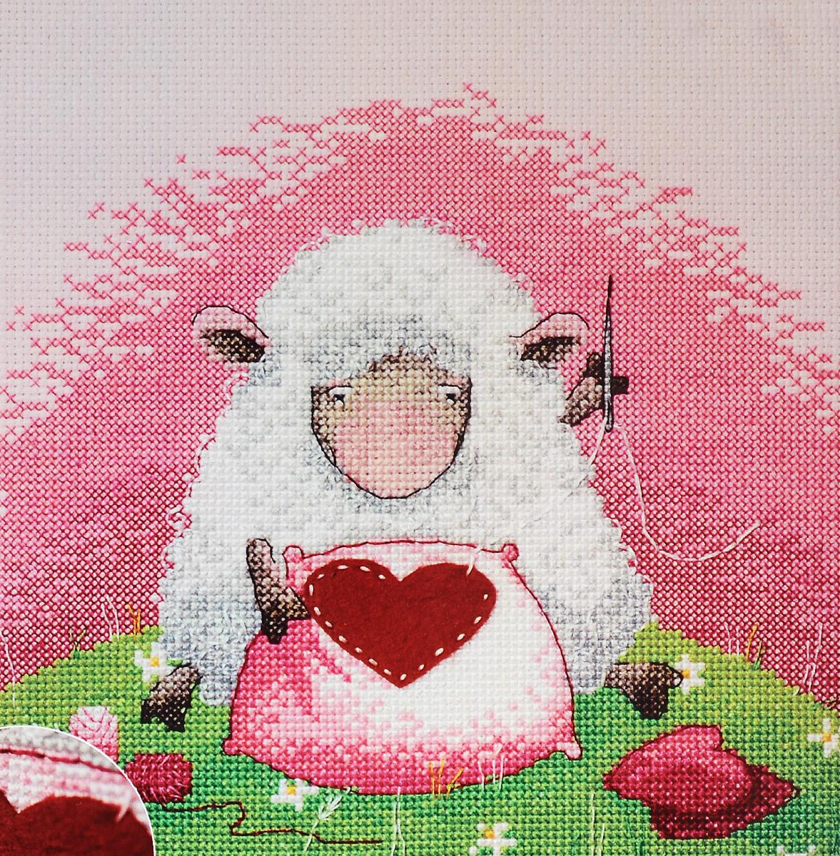 Набор для вышивания крестом Марья Искусница Сердце в подарок, 20 х 20 см15.001.29Набор для вышивания крестом Марья Искусница Сердце в подарок поможет создать красивую вышитую картину по рисунку Элины Эллис. Рисунок-вышивка, выполненный на канве, выглядит стильно и модно. Вышивание отвлечет вас от повседневных забот и превратится в увлекательное занятие! Работа, сделанная своими руками, не только украсит интерьер дома, придав ему уют и оригинальность, но и будет отличным подарком для друзей и близких! Набор содержит все необходимые материалы для вышивки на канве в технике счетный крест. В набор входит: - канва Aida 14 Zweigart (розового цвета), - нитки мулине Finca - хлопок (21 цвет), - декоративный элемент, - черно-белая символьная схема, - инструкция на русском языке, - игла Hemline.