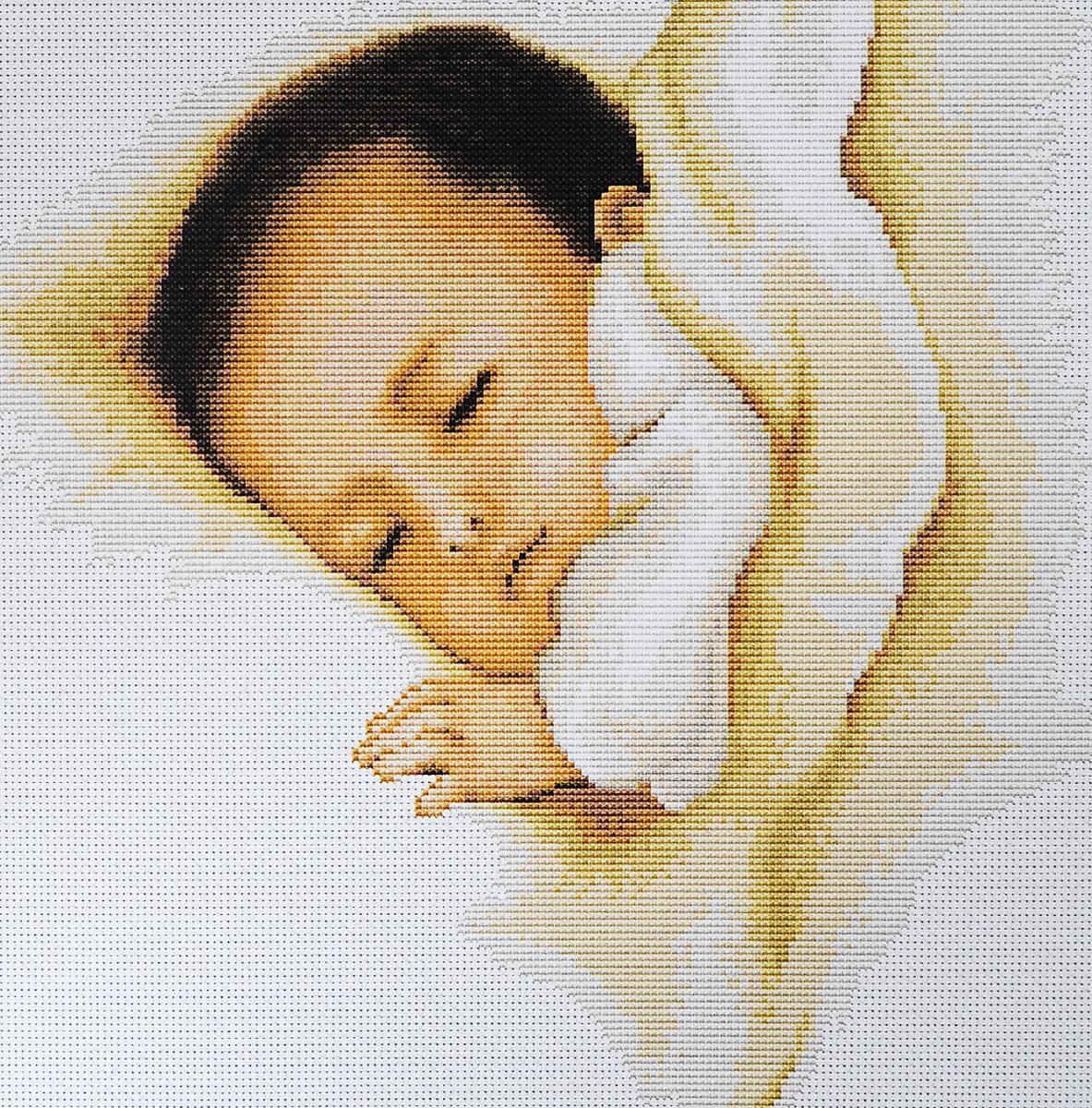 Набор для вышивания крестом Luca-S Сладкий сон, 24,5 х 24,5 смB384Набор для вышивания крестом Luca-S Сладкий сон поможет создать красивую вышитую картину. Рисунок-вышивка, выполненный на канве, выглядит стильно и модно. Вышивание отвлечет вас от повседневных забот и превратится в увлекательное занятие! Работа, сделанная своими руками, не только украсит интерьер дома, придав ему уют и оригинальность, но и будет отличным подарком для друзей и близких! Набор содержит все необходимые материалы для вышивки на канве в технике счетный крест. В набор входит: - канва Aida 18 Zweigart (белого цвета), - нитки мулине Anchor - 100% мерсеризованный хлопок (24 цвета), - черно-белая символьная схема, - инструкция на русском языке, - игла.