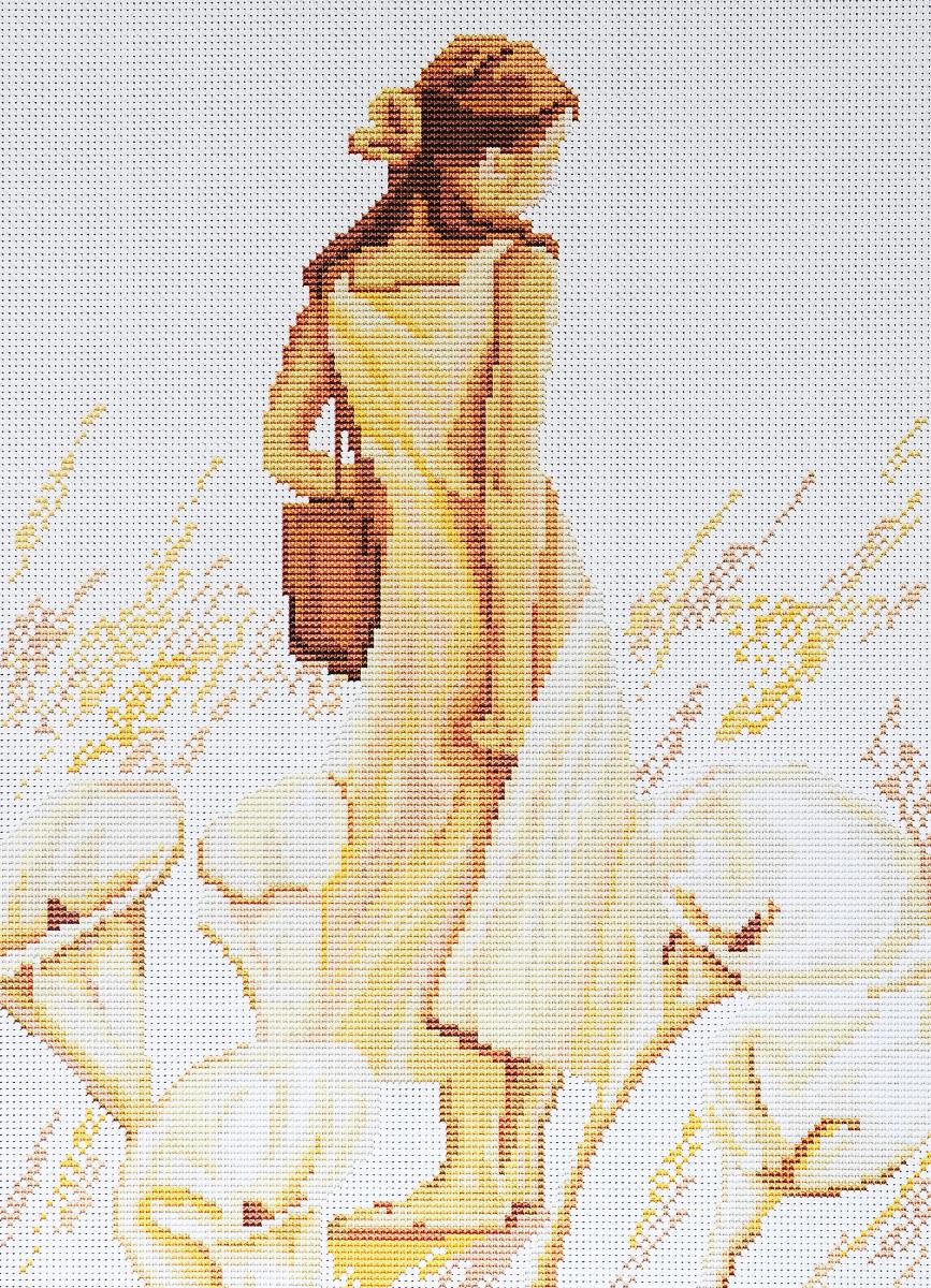 Набор для вышивания крестом Luca-S Впечатление, 20 х 28 смB268Набор для вышивания крестом Luca-S Впечатление поможет создать красивую вышитую картину. Рисунок-вышивка, выполненный на канве, выглядит стильно и модно. Вышивание отвлечет вас от повседневных забот и превратится в увлекательное занятие! Работа, сделанная своими руками, не только украсит интерьер дома, придав ему уют и оригинальность, но и будет отличным подарком для друзей и близких! Набор содержит все необходимые материалы для вышивки на канве в технике счетный крест. В набор входит: - канва Aida 18 Zweigart (белого цвета), - нитки мулине Anchor - 100% мерсеризованный хлопок (21 цвет), - черно-белая символьная схема, - инструкция на русском языке, - игла.