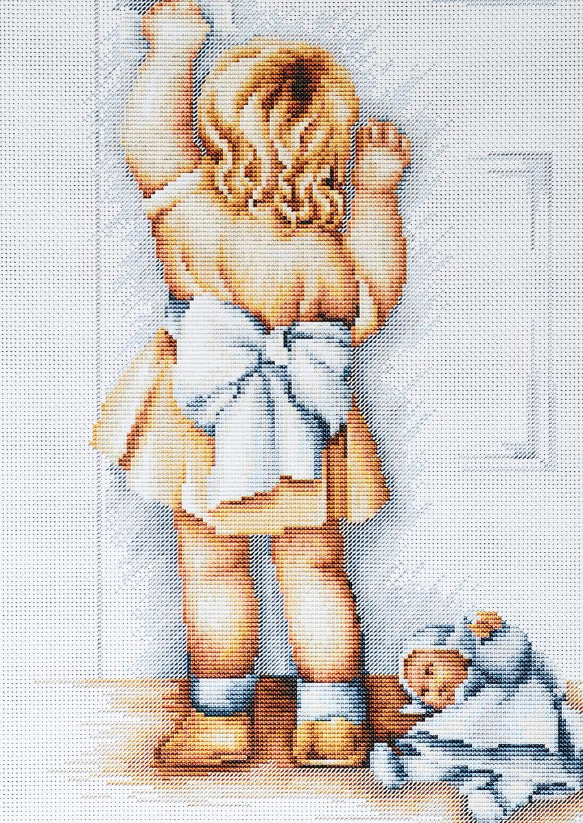 Набор для вышивания крестом Luca-S Мамина помощница, 21 х 28 смB373Набор для вышивания крестом Luca-S Мамина помощница поможет создать красивую вышитую картину. Рисунок-вышивка, выполненный на канве, выглядит стильно и модно. Вышивание отвлечет вас от повседневных забот и превратится в увлекательное занятие! Работа, сделанная своими руками, не только украсит интерьер дома, придав ему уют и оригинальность, но и будет отличным подарком для друзей и близких! Набор содержит все необходимые материалы для вышивки на канве в технике счетный крест. В набор входит: - канва Aida 18 Zweigart (молочного цвета), - нитки мулине Anchor - 100% мерсеризованный хлопок (26 цветов), - черно-белая символьная схема, - инструкция на русском языке, - игла.