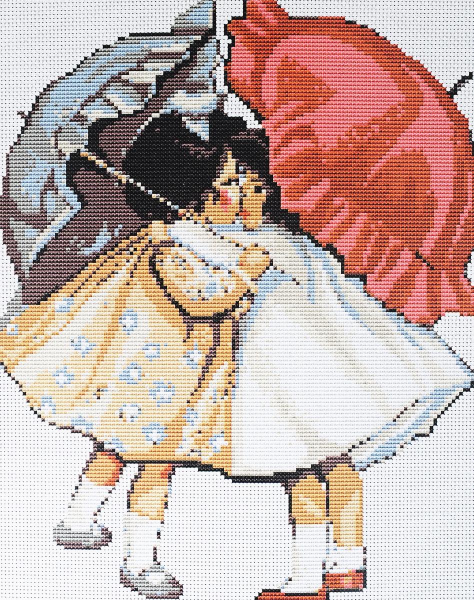 Набор для вышивания крестом Luca-S Примирившиеся девочки, 21 х 26 смB378Набор для вышивания крестом Luca-S Примирившиеся девочки поможет создать красивую вышитую картину. Рисунок-вышивка, выполненный на канве, выглядит стильно и модно. Вышивание отвлечет вас от повседневных забот и превратится в увлекательное занятие! Работа, сделанная своими руками, не только украсит интерьер дома, придав ему уют и оригинальность, но и будет отличным подарком для друзей и близких! Набор содержит все необходимые материалы для вышивки на канве в технике счетный крест. В набор входит: - канва Aida 16 Zweigart (белого цвета), - нитки мулине Anchor - 100% мерсеризованный хлопок (12 цветов), - черно-белая символьная схема, - инструкция на русском языке, - игла.