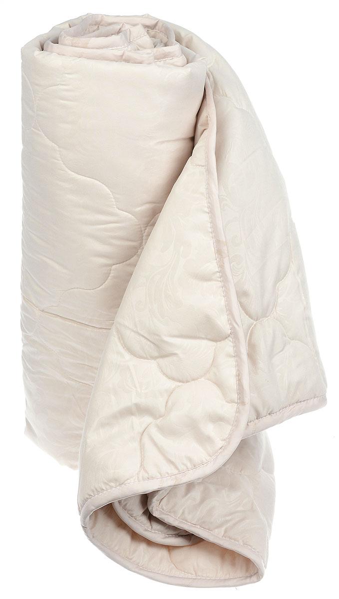 Одеяло Sova & Javoronok Бамбук, наполнитель: бамбуковое волокно, цвет: бежевый, 172 х 205 см05030116081_бежевыйОдеяло Sova & Javoronok Бамбук подарит комфорт и уют во время сна. Чехол, выполненный из микрофибры (100% полиэстера), оформлен стежкой и надежно удерживает наполнитель внутри. Волокно на основе бамбука - инновационный наполнитель, обладающий за счет своей пористой структуры хорошей воздухонепроницаемостью и высокой гигроскопичностью, обеспечивает оптимальный уровень влажности во время сна и создает чувство прохлады в жаркие дни. Антибактериальный эффект наполнителя достигается за счет содержания в нем специального компонента, а также за счет поглощения влаги, что создает сухой микроклимат, препятствующий росту бактерий. Основные свойства волокна: - хорошая терморегуляция, - свободная циркуляция воздуха, - антибактериальные свойства, - повышенная гигроскопичность, - мягкость и легкость, - удобство в эксплуатации и легкость стирки. Рекомендации по уходу: - Стирка запрещена. - Не отбеливать, не...