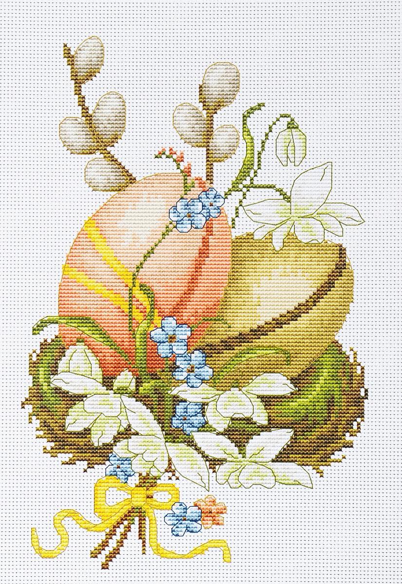 Набор для вышивания крестом Luca-S Пасхальные яйца, 15 х 23 смB102Набор для вышивания крестом Luca-S Пасхальные яйца поможет создать красивую вышитую картину. Рисунок-вышивка, выполненный на канве, выглядит стильно и модно. Вышивание отвлечет вас от повседневных забот и превратится в увлекательное занятие! Работа, сделанная своими руками, не только украсит интерьер дома, придав ему уют и оригинальность, но и будет отличным подарком для друзей и близких! Набор содержит все необходимые материалы для вышивки на канве в технике счетный крест. В набор входит: - канва Aida 16 Zweigart (белого цвета), - нитки мулине Anchor - 100% мерсеризованный хлопок (30 цветов), - черно-белая символьная схема, - инструкция на русском языке, - игла.
