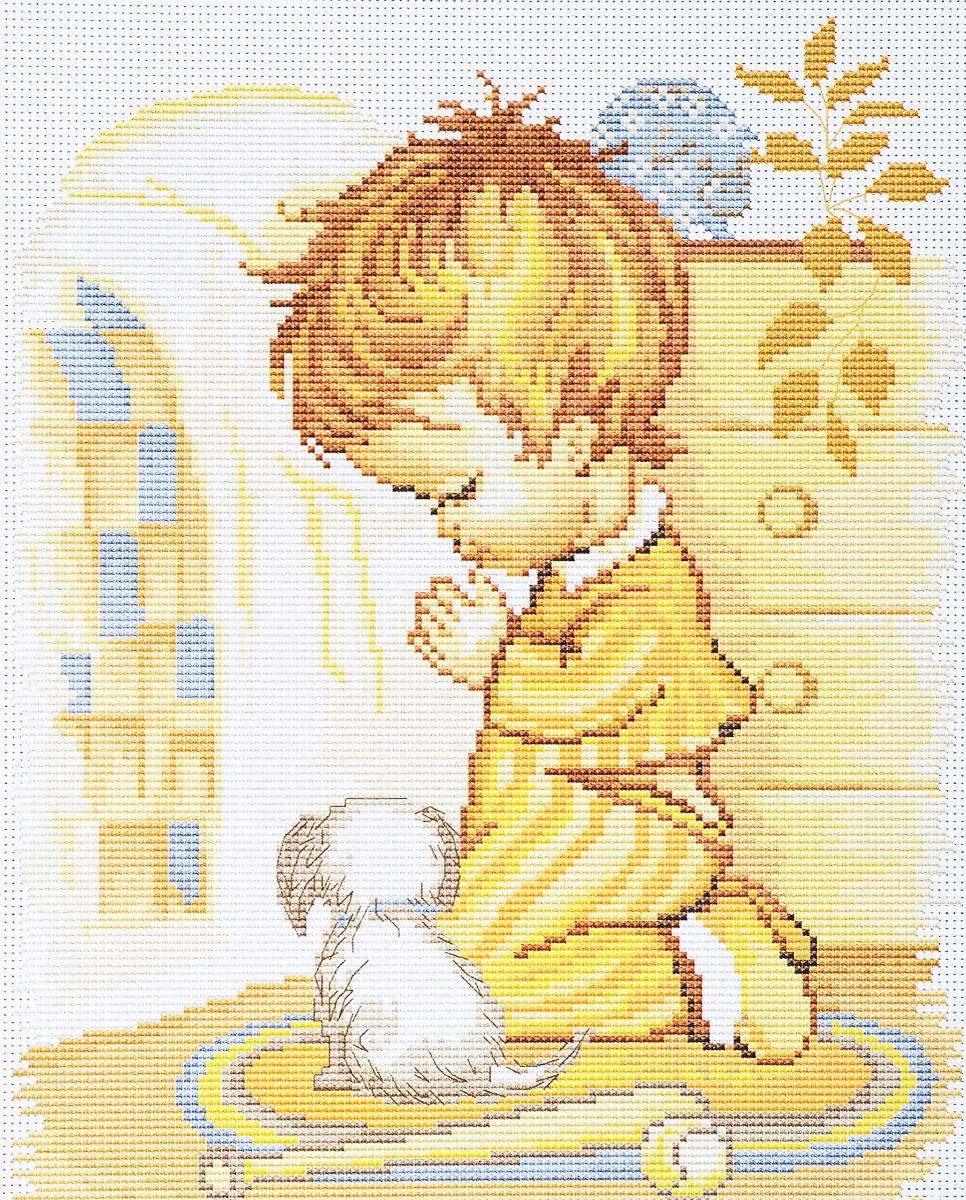 Набор для вышивания крестом Luca-S Мольба мальчика, 20 х 25 смB271Набор для вышивания крестом Luca-S Мольба мальчика поможет создать красивую вышитую картину. Рисунок-вышивка, выполненный на канве, выглядит стильно и модно. Вышивание отвлечет вас от повседневных забот и превратится в увлекательное занятие! Работа, сделанная своими руками, не только украсит интерьер дома, придав ему уют и оригинальность, но и будет отличным подарком для друзей и близких! Набор содержит все необходимые материалы для вышивки на канве в технике счетный крест. В набор входит: - канва Aida 16 Zweigart (белого цвета), - нитки мулине Anchor - 100% мерсеризованный хлопок (23 цвета), - черно-белая символьная схема, - инструкция на русском языке, - игла.