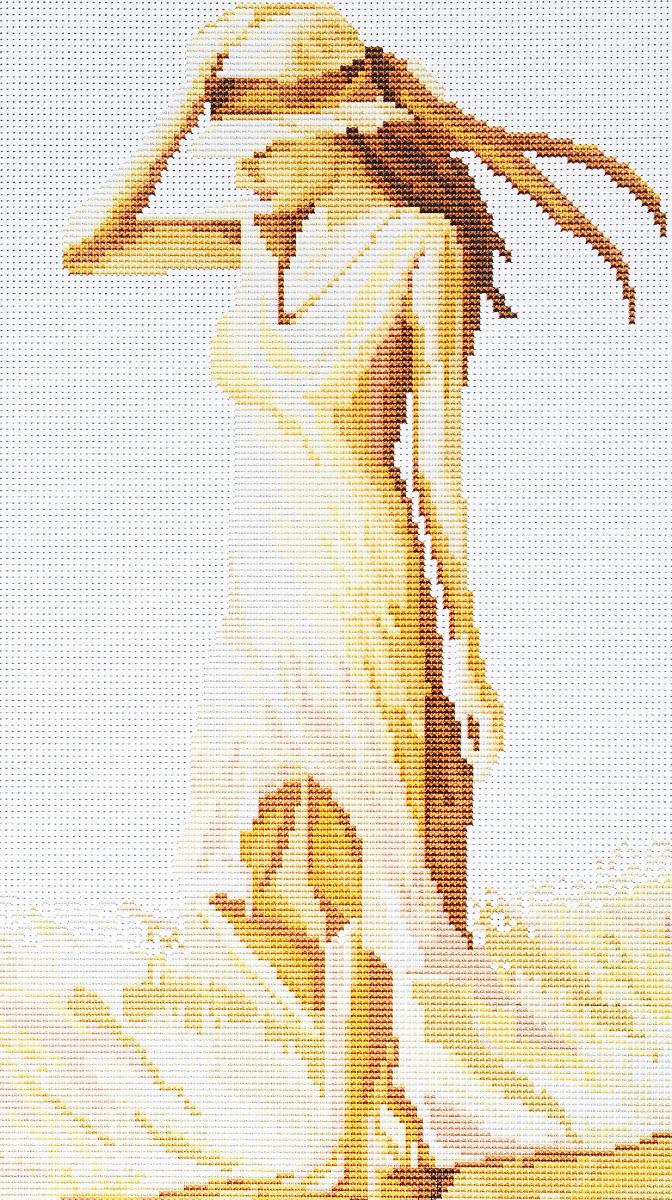 Набор для вышивания крестом Luca-S Прогулка, 16 х 28 смB266Набор для вышивания крестом Luca-S Прогулка поможет создать красивую вышитую картину. Рисунок-вышивка, выполненный на канве, выглядит стильно и модно. Вышивание отвлечет вас от повседневных забот и превратится в увлекательное занятие! Работа, сделанная своими руками, не только украсит интерьер дома, придав ему уют и оригинальность, но и будет отличным подарком для друзей и близких! Набор содержит все необходимые материалы для вышивки на канве в технике счетный крест. В набор входит: - канва Aida 18 Zweigart (белого цвета), - нитки мулине Anchor - 100% мерсеризованный хлопок (21 цвет), - черно-белая символьная схема, - инструкция на русском языке, - игла.