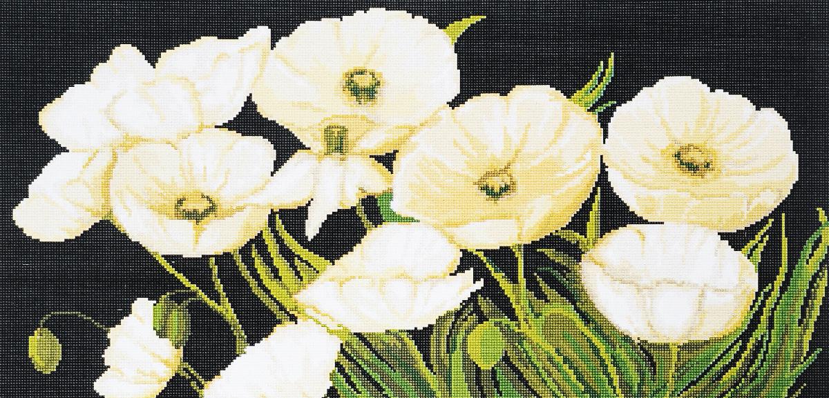 Набор для вышивания крестом Luca-S Белые маки, 31,5 х 16 смG274Набор для вышивания крестом Luca-S Белые маки поможет создать красивую вышитую картину. Рисунок-вышивка, выполненный на канве, выглядит стильно и модно. Вышивание отвлечет вас от повседневных забот и превратится в увлекательное занятие! Работа, сделанная своими руками, не только украсит интерьер дома, придав ему уют и оригинальность, но и будет отличным подарком для друзей и близких! Набор содержит все необходимые материалы для вышивки на канве в технике счетный крест. Канва разграничена на клетки по 10 пунктов, как и на схеме, что существенно облегчает работу вышивальщицы. В набор входит: - канва гобеленовая Zweigart - 100 клеток в 10 см (бежевого цвета), - нитки мулине Anchor - 100% мерсеризованный хлопок (22 цвета), - черно-белая символьная схема, - инструкция на русском языке, - игла.