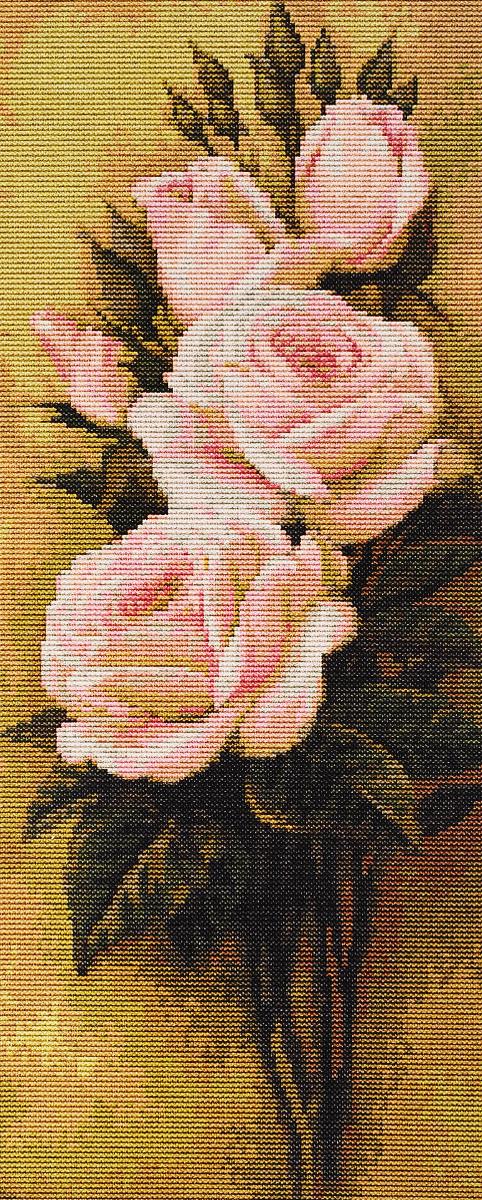 Набор для вышивания крестом Luca-S Розы, 15,5 х 35,5 смB453Набор для вышивания крестом Luca-S Розы поможет создать красивую вышитую картину. Рисунок- вышивка, выполненный на канве, выглядит стильно и модно. Вышивание отвлечет вас от повседневных забот и превратится в увлекательное занятие! Работа, сделанная своими руками, не только украсит интерьер дома, придав ему уют и оригинальность, но и будет отличным подарком для друзей и близких! Набор содержит все необходимые материалы для вышивки на канве в технике счетный крест. Канва разграничена на клетки по 10 пунктов, как и на схеме, что существенно облегчает работу вышивальщицы. В набор входит: - канва Aida 18 Zweigart (молочного цвета), - нитки мулине Anchor - 100% мерсеризованный хлопок (25 цветов), - черно-белая символьная схема, - инструкция на русском языке, - игла.